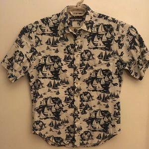 Reyn Spooner Button Front Short Sleeve Shirt